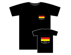 T-Shirt Neues Hambacher Fest schwarz