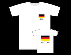 T-Shirt Hambacher Fest weiss